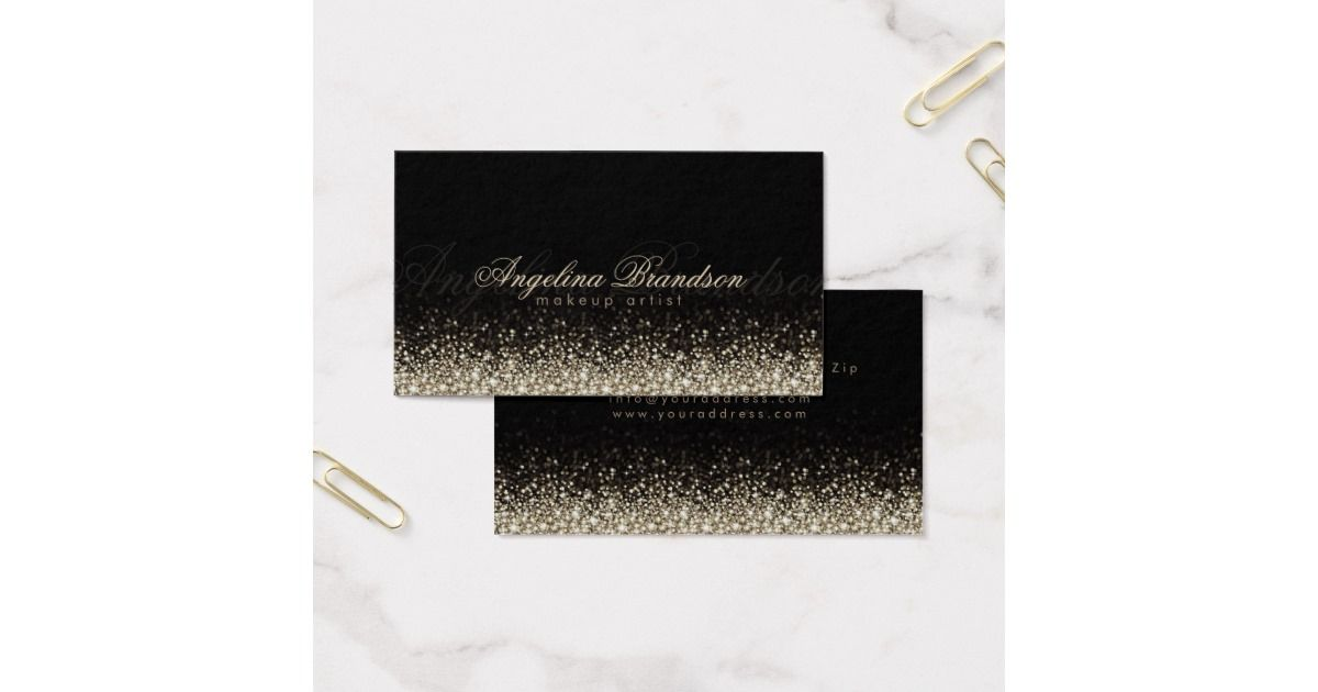 Shimmering silver makeup artist damask black card fabulous business shimmering silver makeup artist damask black card fabulous business cards dont miss reheart Image collections