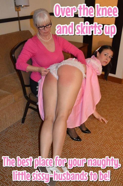 You Husband pantie spank