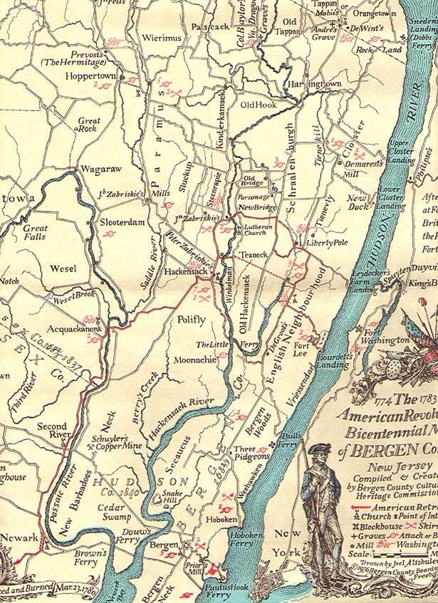 Fort Lee New Jersey Map.Bergen County Nj I T S D A W O R L D Y A K N O W
