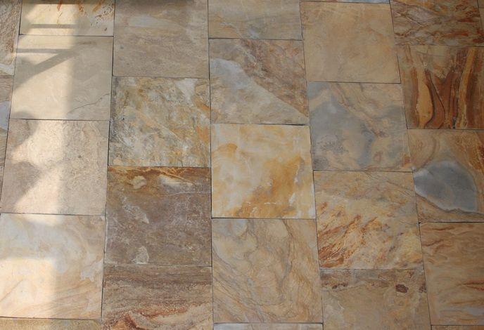 Honey Tan Slate California Gold Slate Flooring Slate Flooring Marble Look Tile