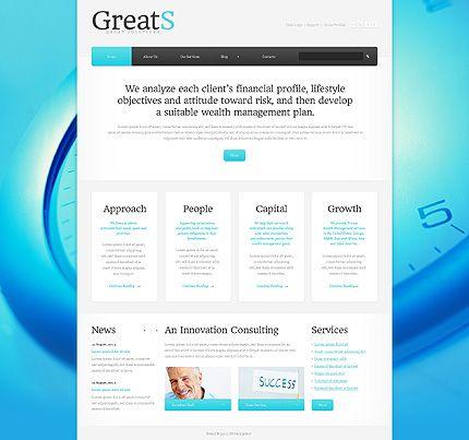 Template 43882 - Greats Business Website Template Business Website
