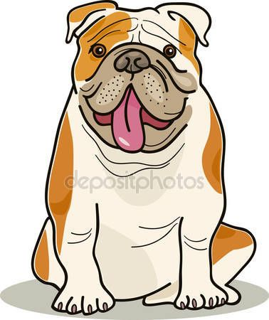 Descargar - Razas de perros: bulldog — Ilustración de Stock #4080350 ...