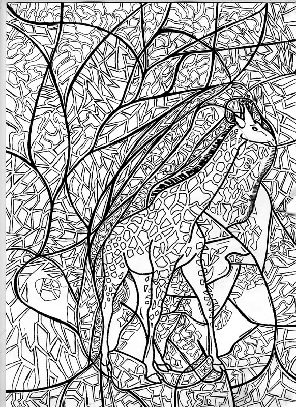 camouflage animal coloring pages - photo#45