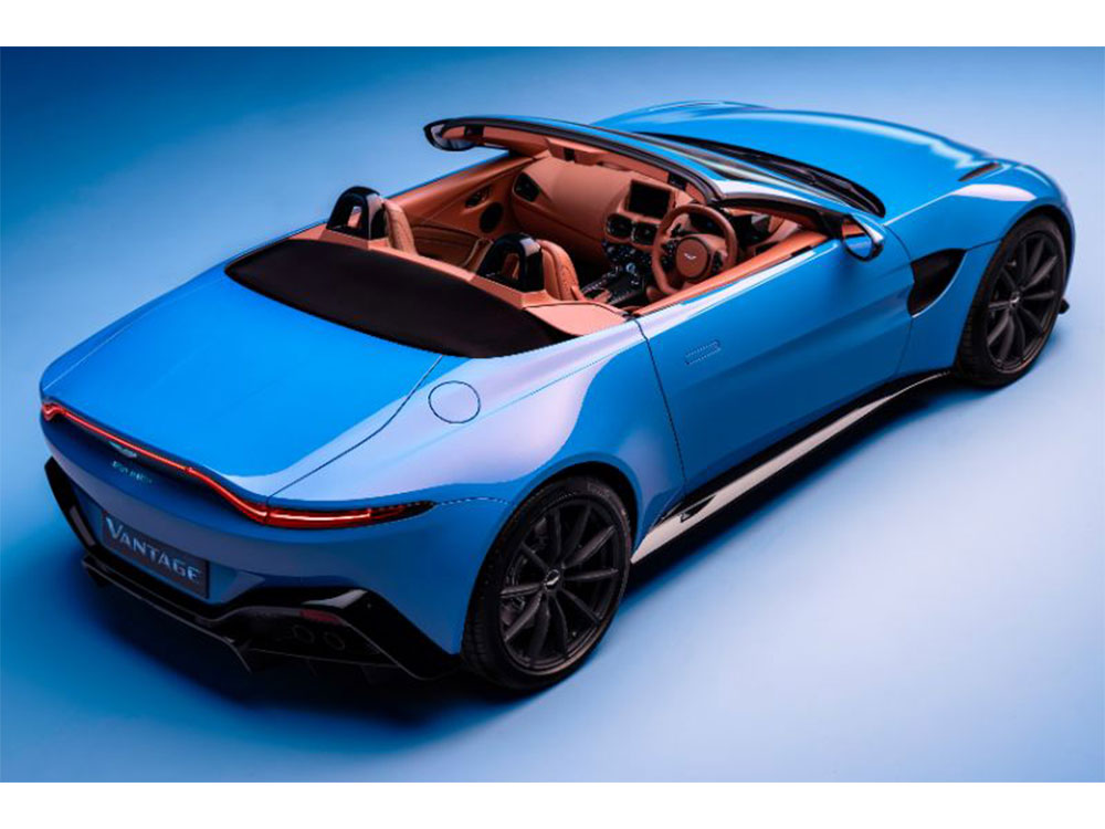 2021 Aston Martin Vantage Roadster One Of World's Fastest