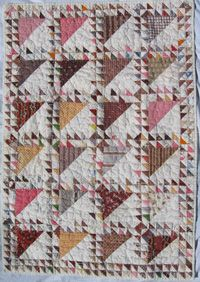 """Lady of the Lake Crib Quilt, c. 1889-1890, 40"""" x 28"""", upstate NY, oldquiltcompany"""