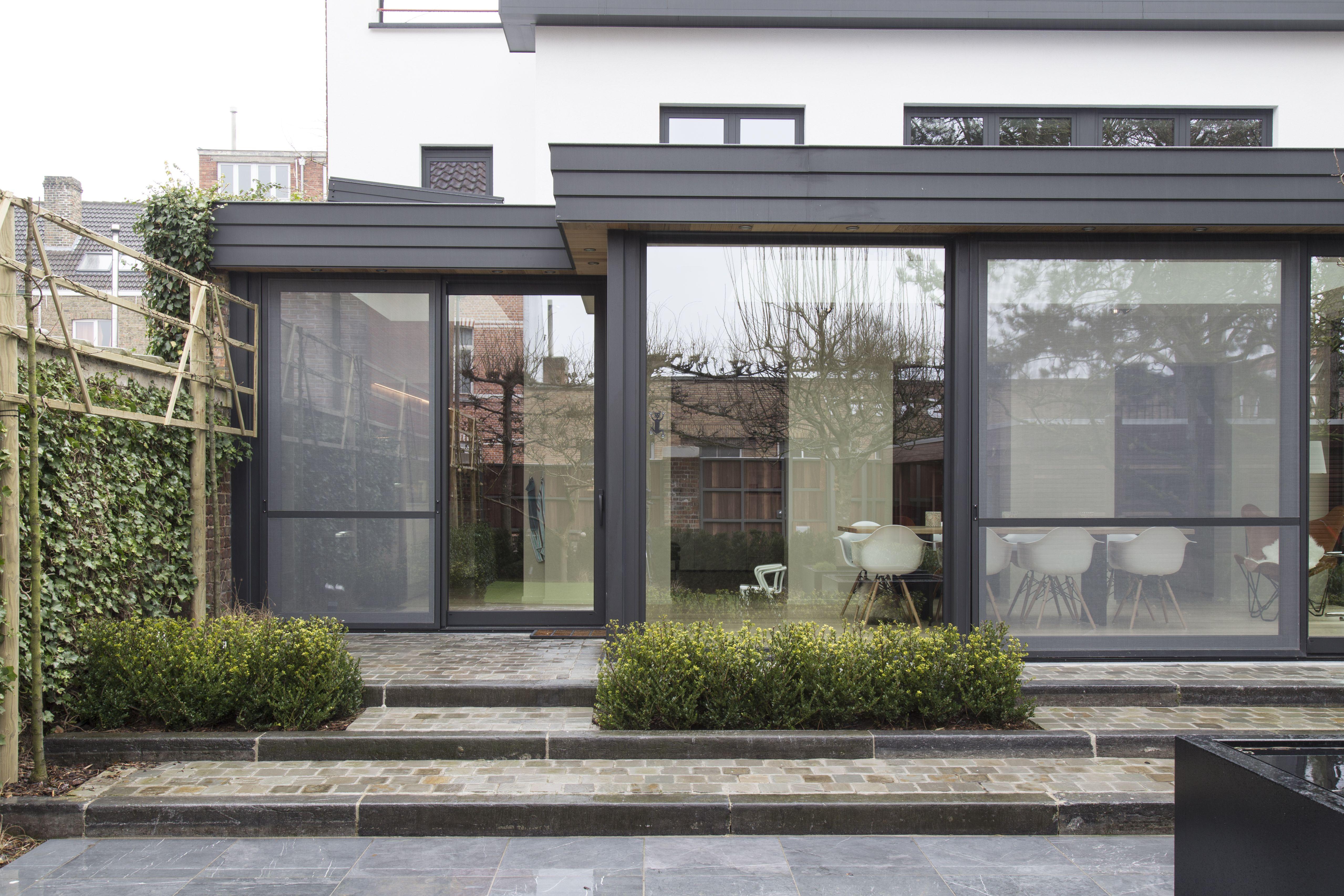 Moderne leefveranda te Brugge midden in stad   Veranda   Pinterest ...