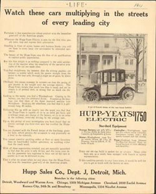 Pin By Vogel Marketing Solutions Llc On Hupp Yeats Electric Car