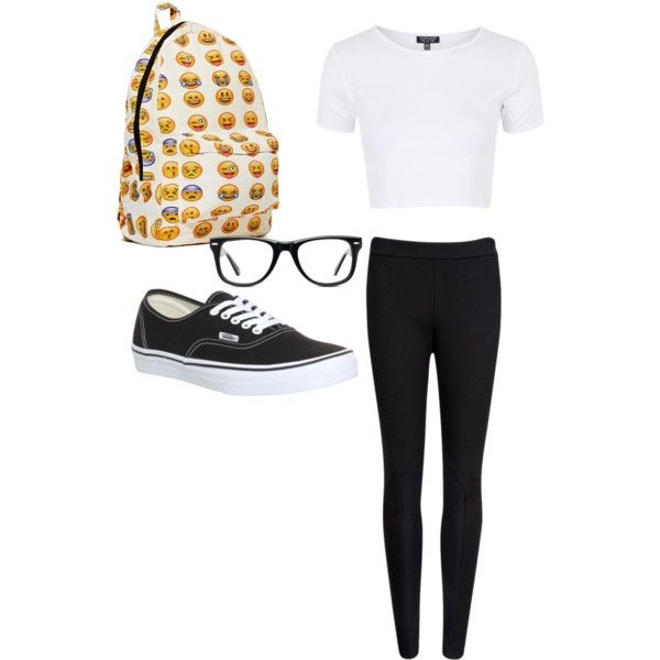 Geek Chic by chocolatequeen518 on Polyvore featuring polyvore, fashion, style, Topshop, Ted Baker, Vans and Muse