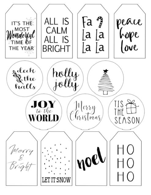 Simple Christmas Gift Tags Free Printable Dream Design Diy Christmas Gift Tags Free Free Printable Christmas Gift Tags Christmas Gift Tags