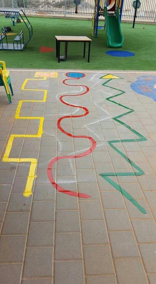 Cinco juegos para pintar en el patio y aprovechar