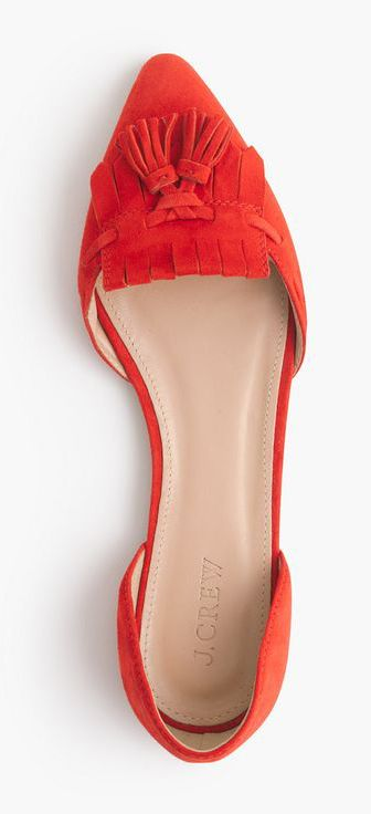 cf08c4ee387 Coral tassel flats | Shoes Shoes Shoes! | Shoes, Loafer flats, Fashion