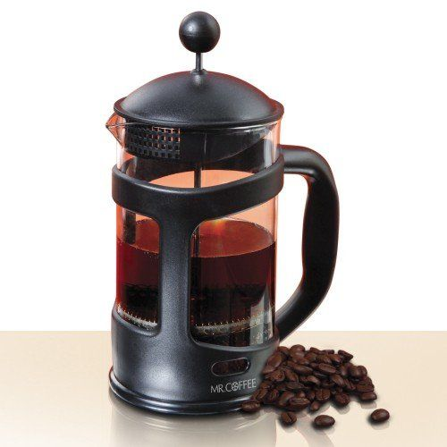 Mr Coffee Brivio 28 Oz Coffee Press Protected Glass Carafe Coffee Press Glass Carafe Mr Coffee