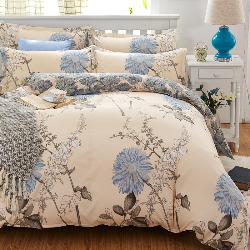 4711b7e8e481 Home Textiles cotton 4pcs Bedding Set Bedclothes include Duvet Cover Bed  Sheet Pillowcase Comforter Bedding Sets