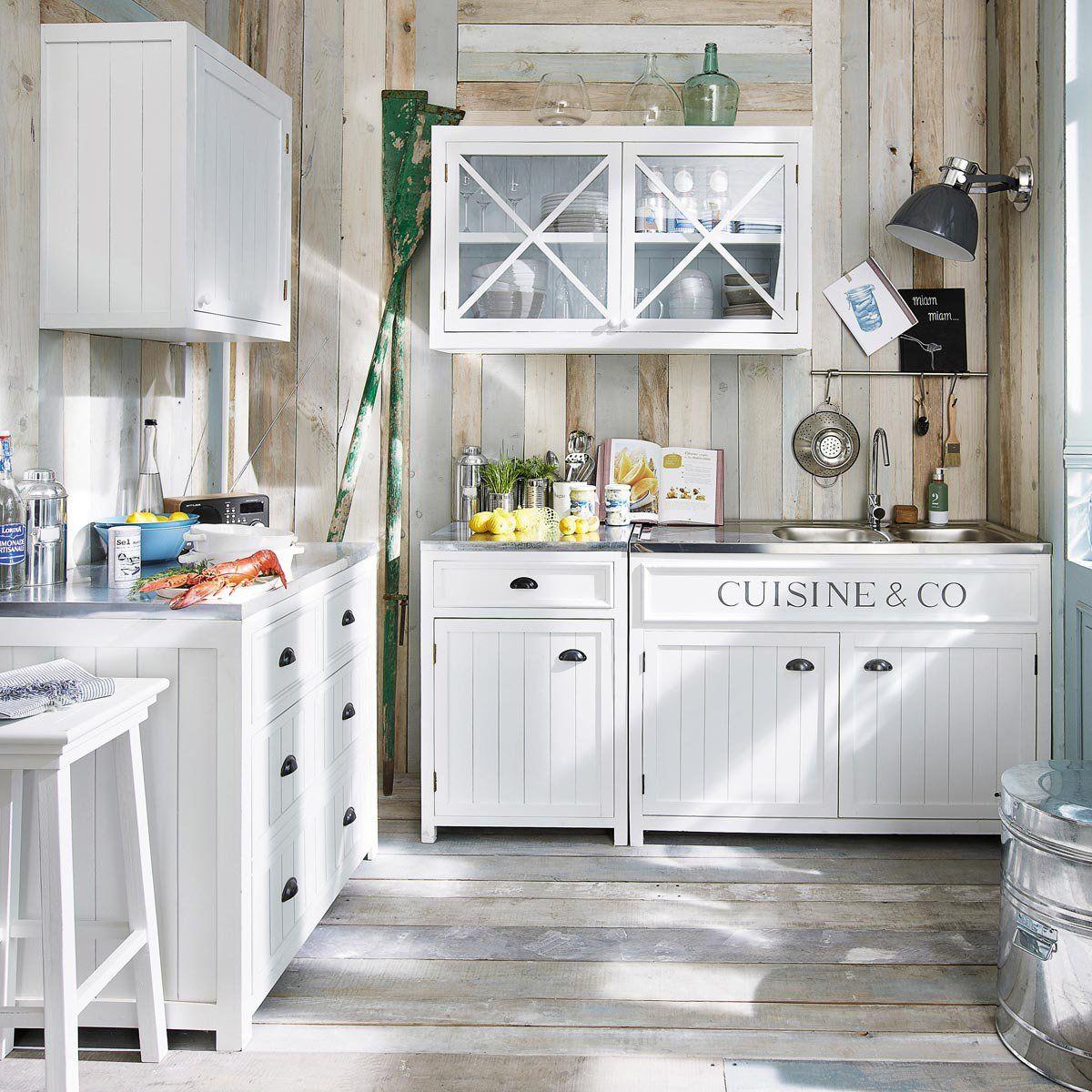 cuisine l ment mural 60 newport home kitchen. Black Bedroom Furniture Sets. Home Design Ideas