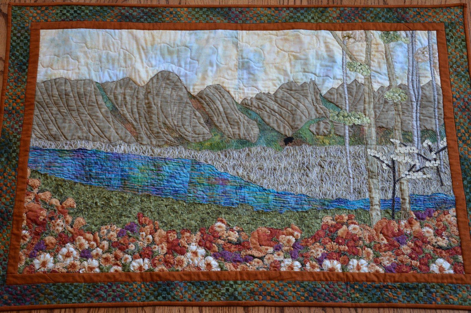 Landscape Quilt Patterns Unique Inspiration