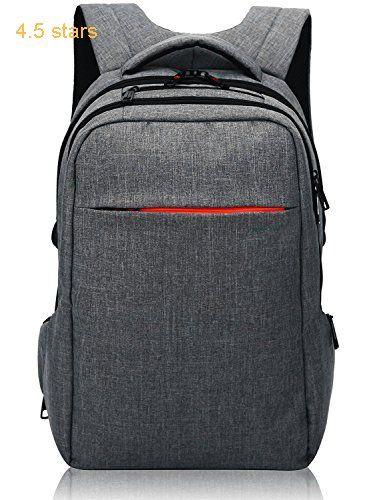 f9cbd14b74 Norsens Laptop Backpack 15.6 inch Slim Computer Backpacks Business Backpack