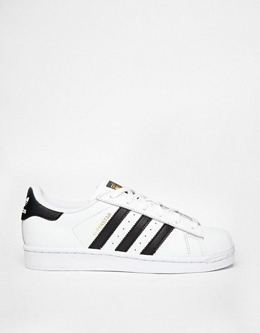 adidas superstar bianco e nero bianco e originali.