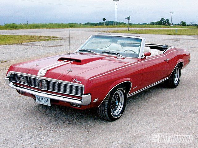 1969 Ford Mercury Cougar  Liked the tail lights that blinked