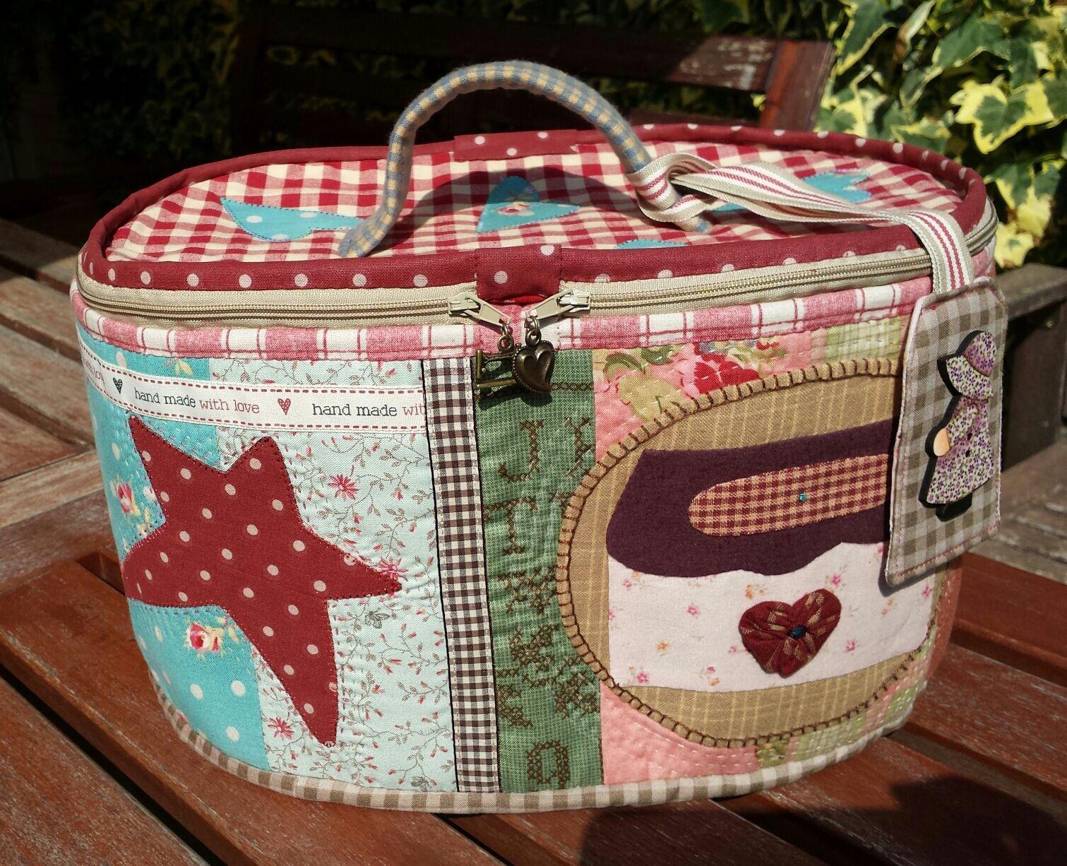 Luna patch costurero mimi 39 s cottage costura pinterest - Proyectos de patchwork ...
