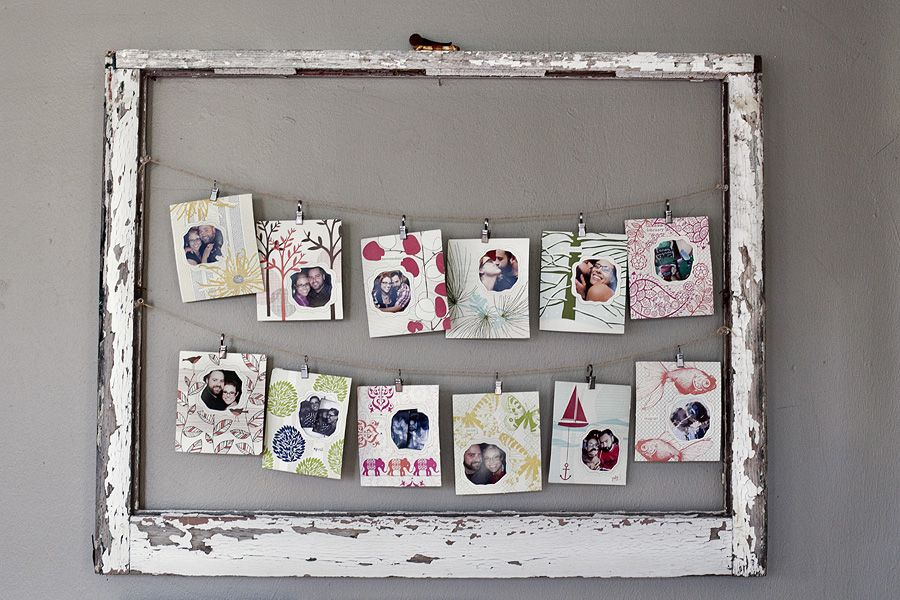 antique window screen photo frame | ... old window frames. You can ...