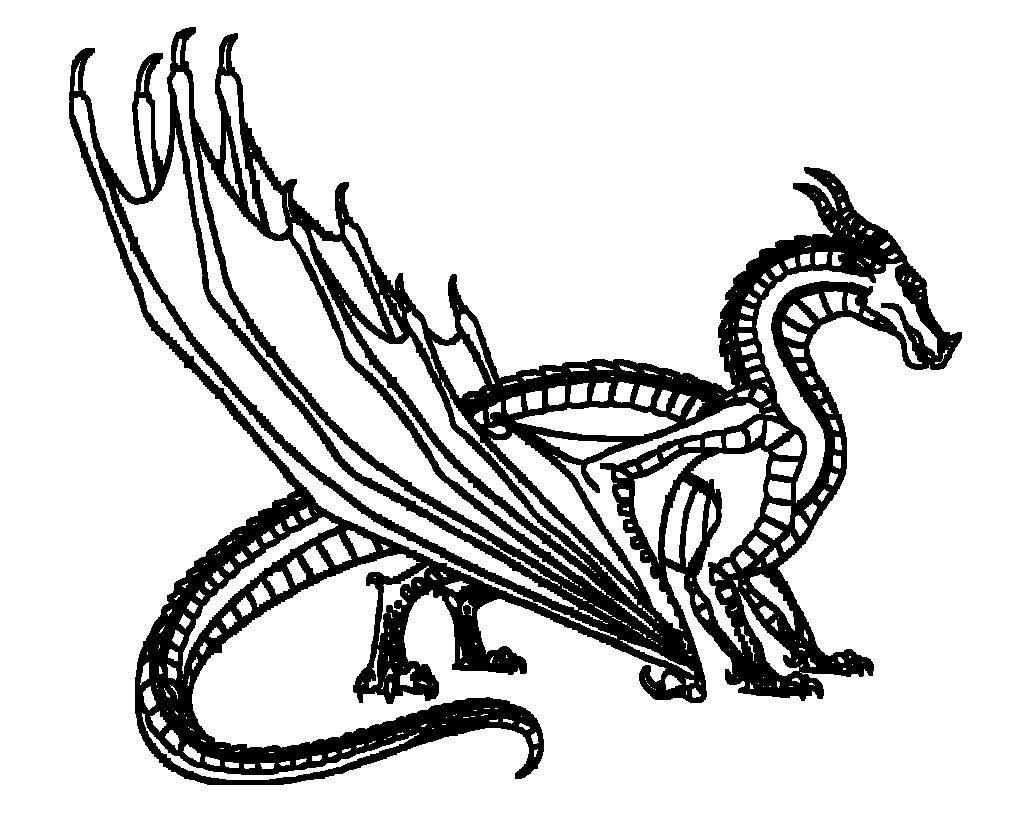 36 New Wings Of Fire Coloring Pages Wings Of Fire Coloring Pages