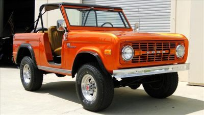 Trade my minivan in on an old open body Ford Bronco