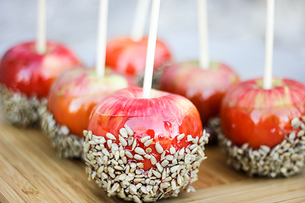 Salted Cinnamon Candy Apples Recipe Candy apples
