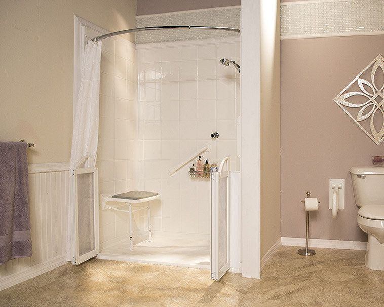 Refresh Walk In Shower This Ultra Low Entry Shower Is