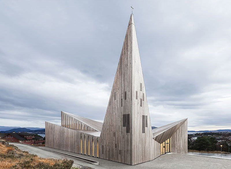Iglesias y arquitectura knarvi community church e for Arquitectos importantes