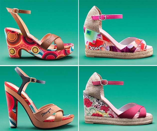 Desigual Spring/Summer 2014 Shoes and Accessories #shoes
