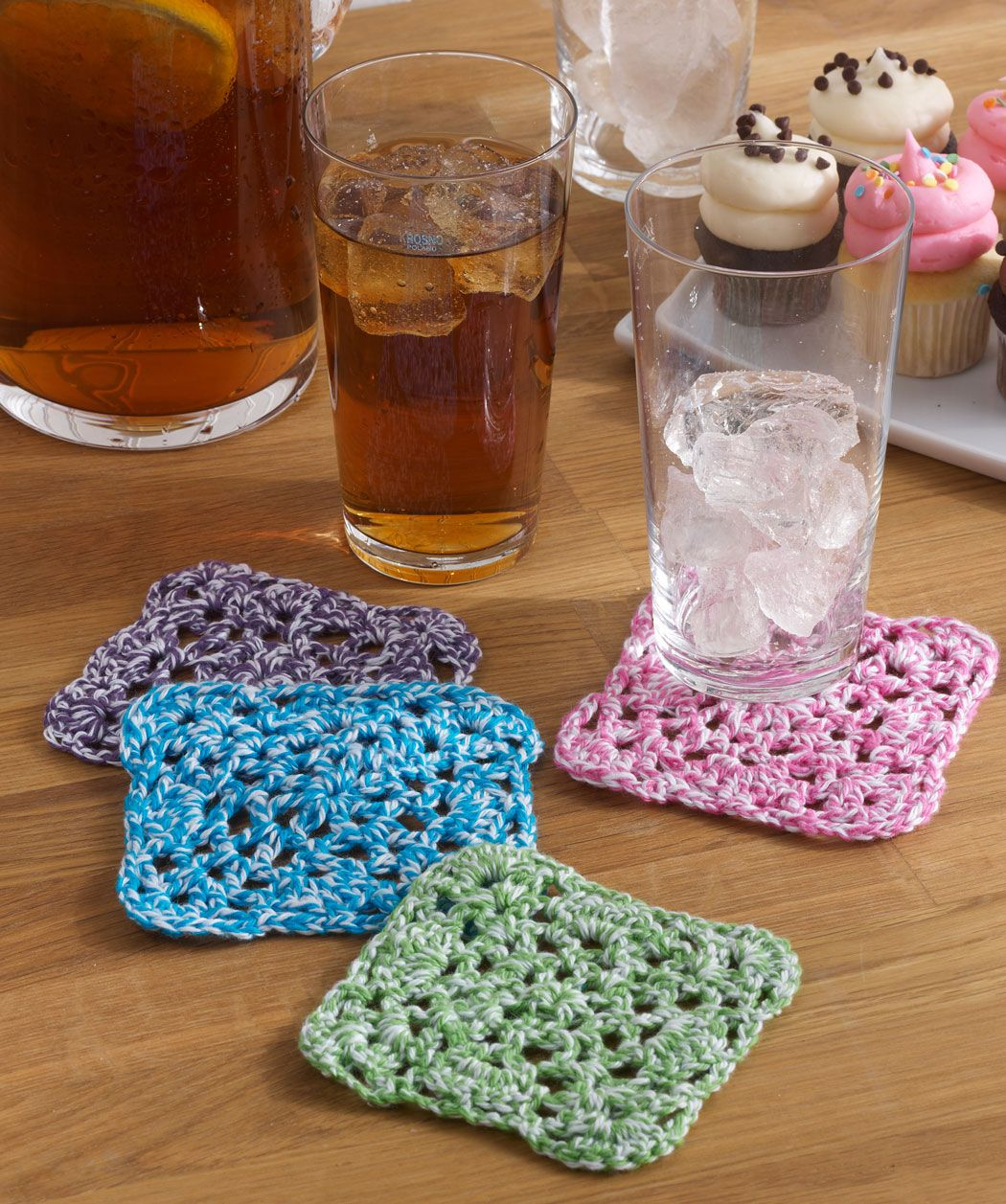 Coaster Quartet Free Crochet Pattern from Aunt Lydia\'s Crochet ...