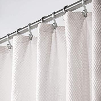 Amazon Com Mdesign Soft 100 Microfiber Polyester Fabric Shower