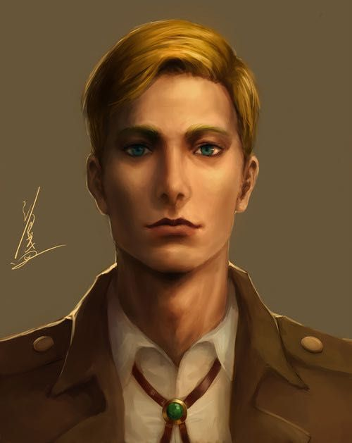 The New You (AOT boys x reader) - Erwin Smith   things i find   Will