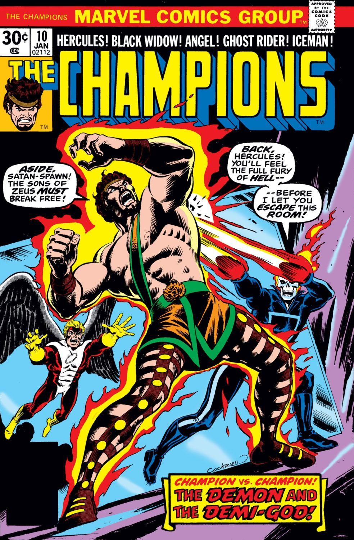 Champions #13 Marvel NM Comics Book