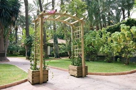 jardineras y maceteros de madera interior y exterior santiago - Jardineras Exterior