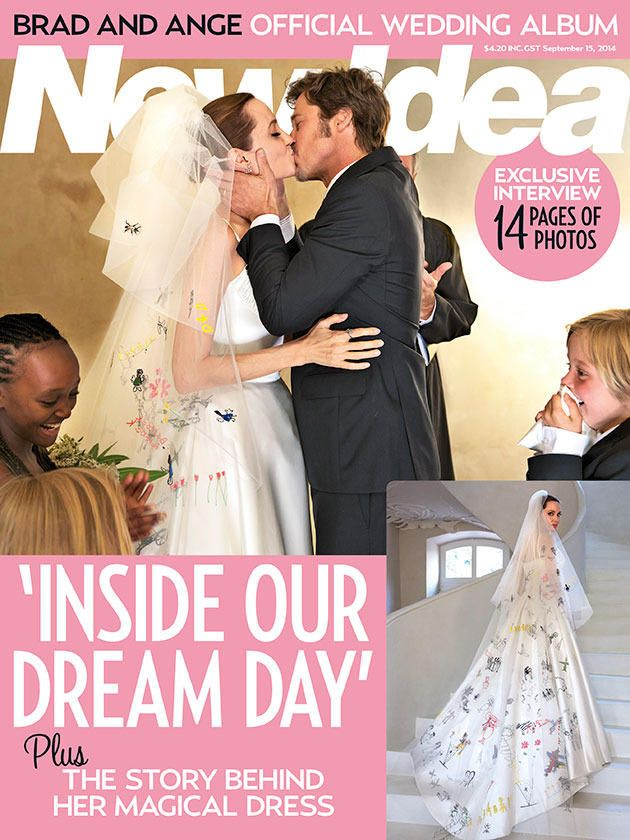 Angelina Jolie And Brad Pitt Wedding Exclusive Our Perfect Day