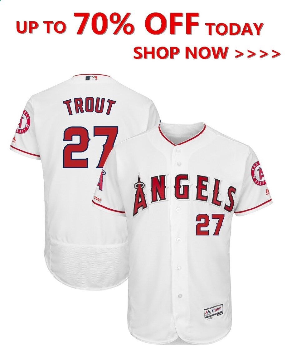 Online shopping a variety of Mike Trout Los Angeles Angels Majestic Alternate Flex Base Authentic Collection Player Jersey  Scarlet Made for the passionate fan looking fo...