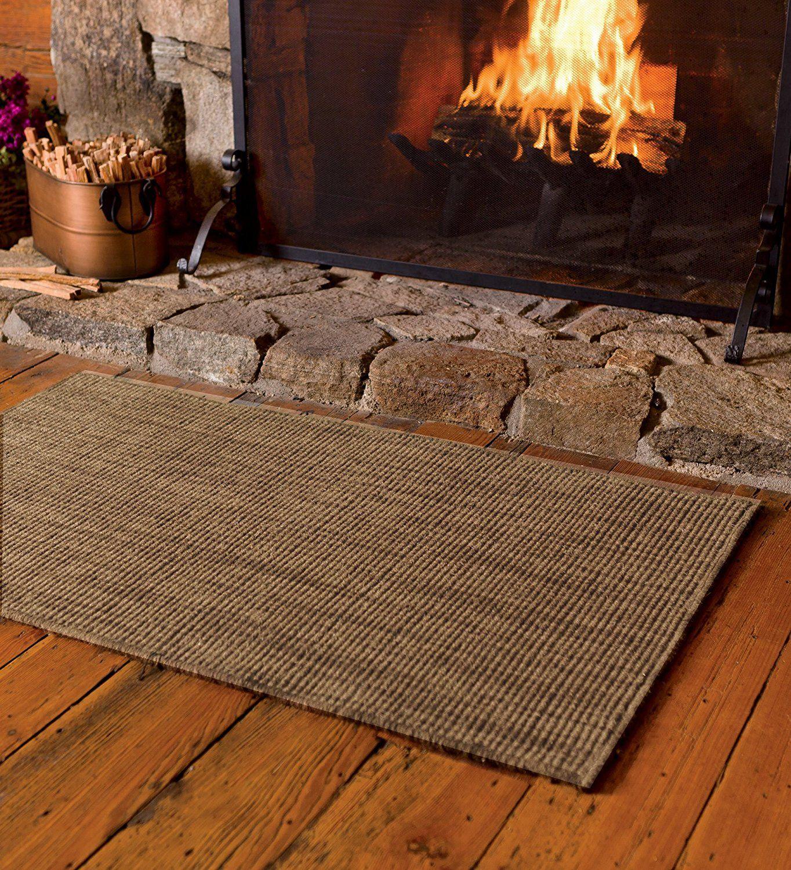 Wool Blend Dalton Rectangular Rug Low