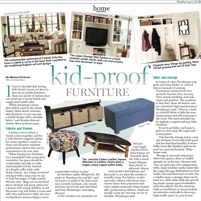 Kid Proof Your Home With Kid Proof Furniture Kidproof