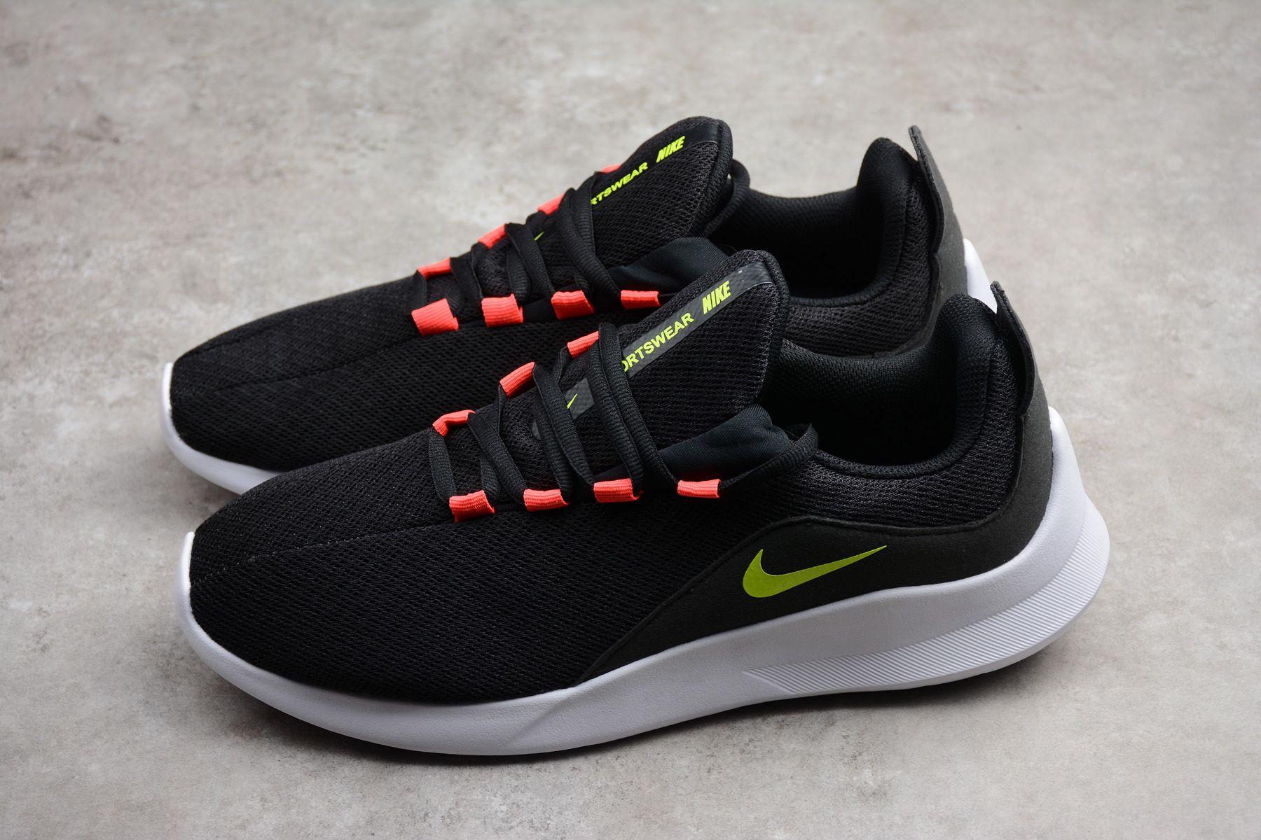 65ec40364f6 Nike Viale Black Volt-Solar Red-White AA2181-001 shoes for men