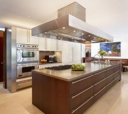 Isla Moderna Cocina Contemporary Kitchen Island Contemporary Kitchen Modern Kitchen Island