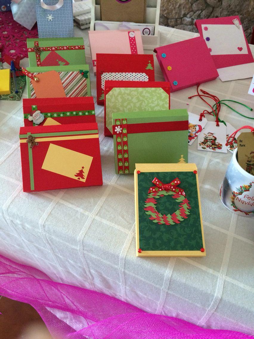 Cajitas para regalo esta Navidad