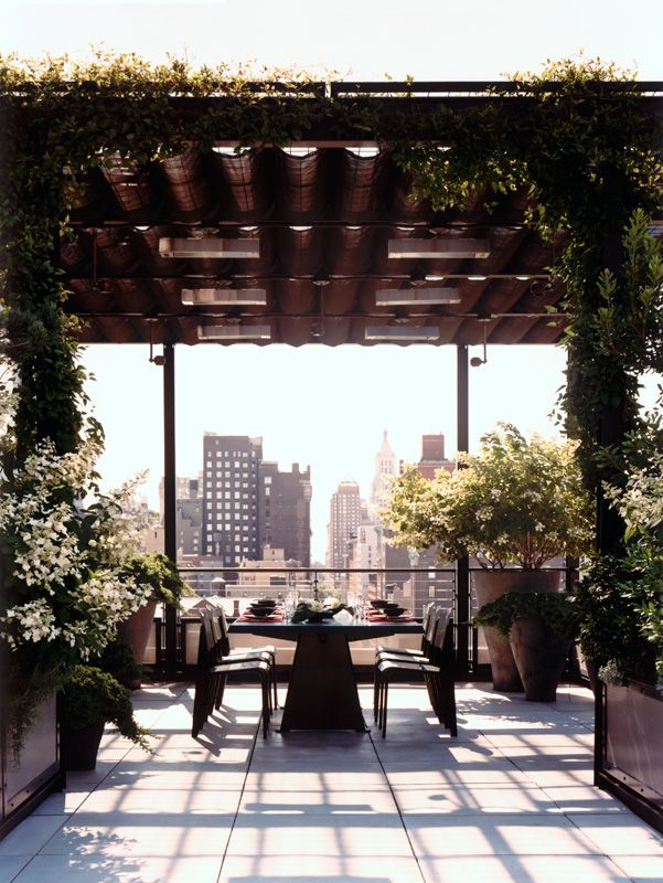 Manhattan Roof Terrace - Projects - Sawyer | Berson