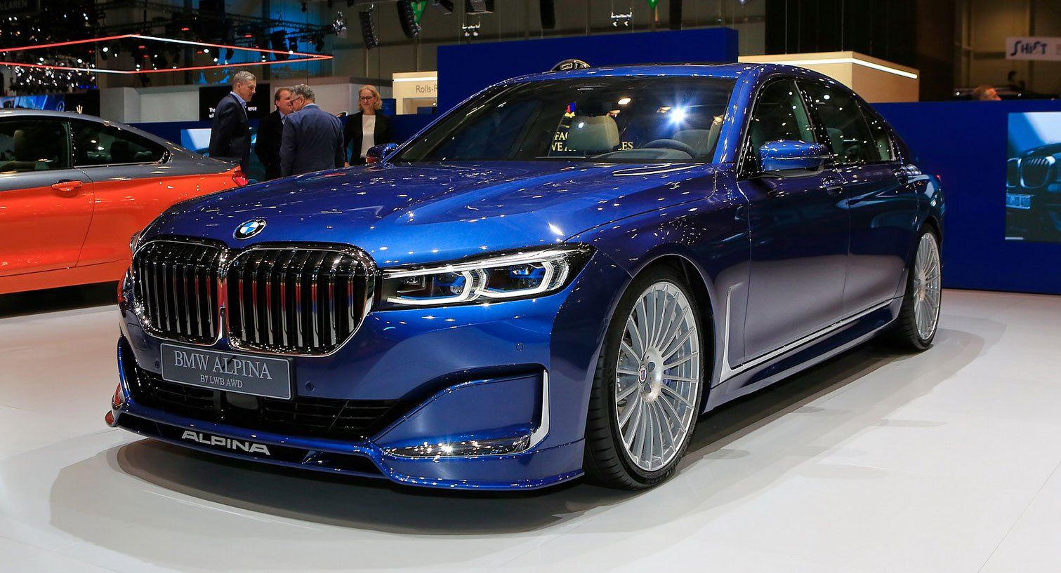 2020 Alpina B7 xDrive A Super Limo With 600 HP And A