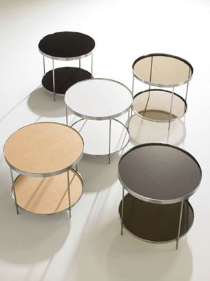 HBF Double Take Occassional Tables By Barbara Barry