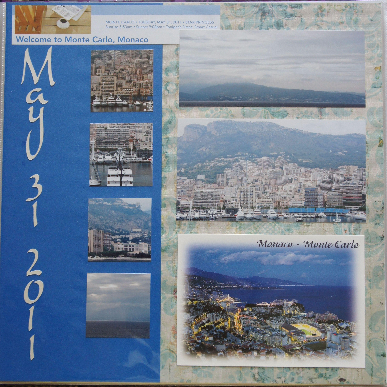Vietnam scrapbook ideas - Monaco Monte Carlo Scrapbook Com Monacolayout