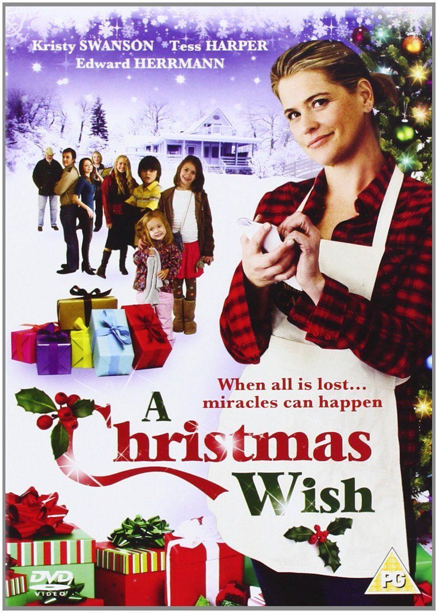 A Christmas Wish Dvd Amazon Co Uk Kirsty Swanson Edwards Herrmann Craig Clyde Dvd Blu Ray Hallmark Christmas Movies Christmas Movies Hallmark Movies