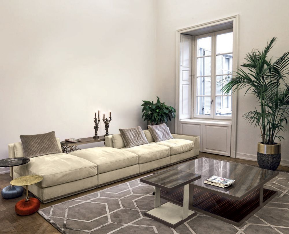 Living Room Designer Pleasing Yura Sofa Glamour Living Room Design At Cassoni  Living Room Decorating Inspiration