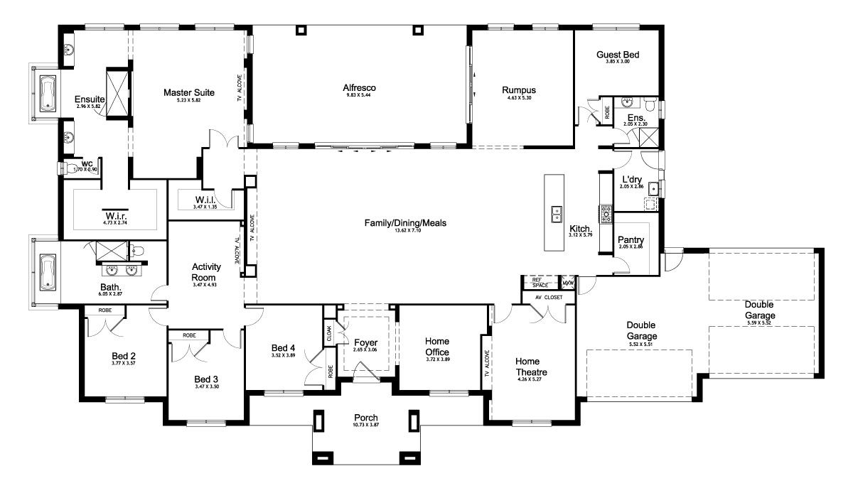 Mirage Acreage Level Floorplan By Kurmond Homes New Home - Acreage home designs