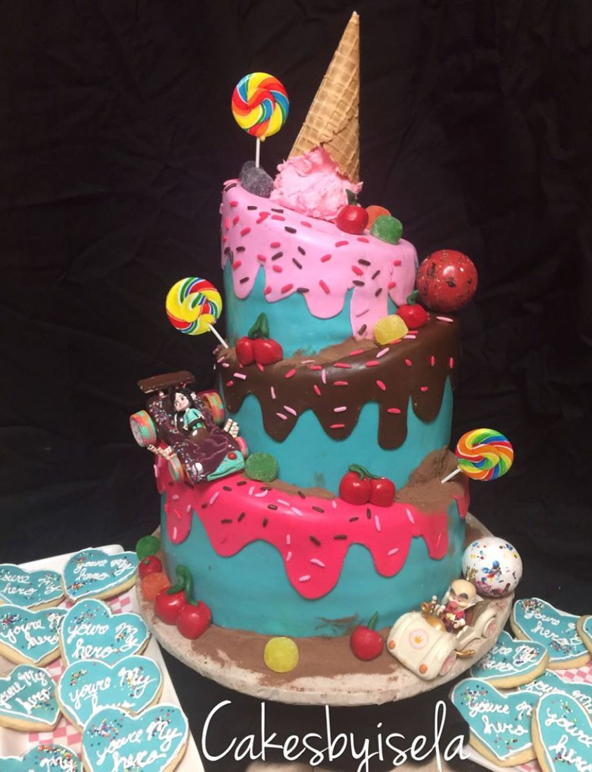 Wreck It Ralph Birthday Party Ralph Breaks The Internet Birthday